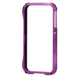 Callmate Bumper Cleave Aluminum Case For iPhone 4/4S -  Purple