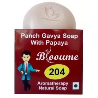 Blooume 204 Panch Gavya Soap With Papaya - 100g - Pack of 2