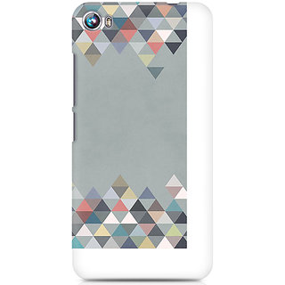 CopyCatz Mountains In Grey Premium Printed Case For Micromax Canvas Fire 4 A107