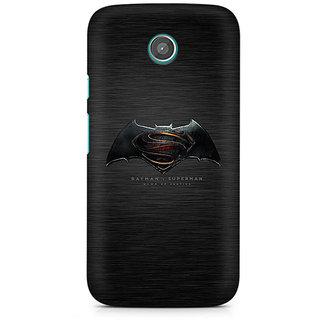 CopyCatz Batman Vs Superman Logo Premium Printed Case For Moto E