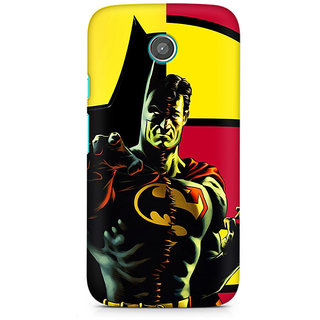 CopyCatz Batman Within Superman Premium Printed Case For Moto E