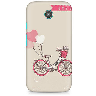CopyCatz Bicycle Love Premium Printed Case For Moto E