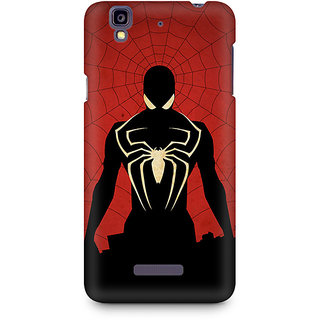CopyCatz Spiderman In Black Premium Printed Case For Micromax YU Yureka A05510