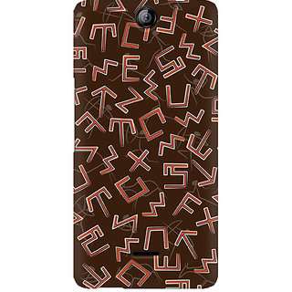 CopyCatz Tribal Alphabets Premium Printed Case For Micromax Canvas Juice 3 Q392