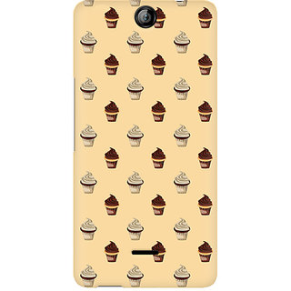 CopyCatz Cream Cupcakes Premium Printed Case For Micromax Canvas Juice 3 Q392