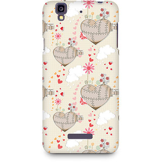 CopyCatz Heart Is A Machine Premium Printed Case For Micromax YU Yureka A05510