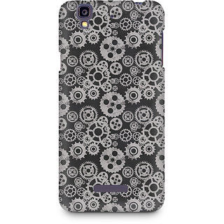 CopyCatz Vintage Gear Overload Premium Printed Case For Micromax YU Yureka A05510