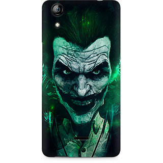CopyCatz Joker Green Premium Printed Case For Micromax Canvas Selfie 2 Q340