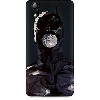CopyCatz Batman Art Lines Premium Printed Case For Micromax Canvas Selfie 2 Q340