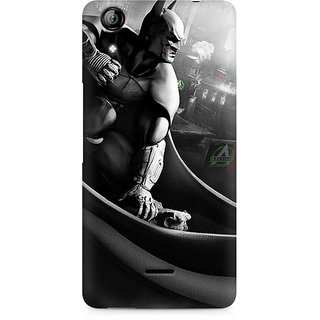 CopyCatz Batman Cloak City Fist Premium Printed Case For Micromax Canvas Selfie 2 Q340
