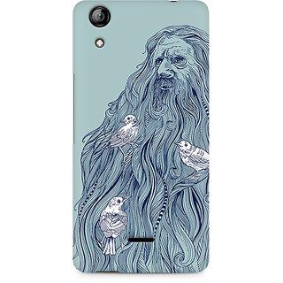 CopyCatz Beards Nest Premium Printed Case For Micromax Canvas Selfie 2 Q340