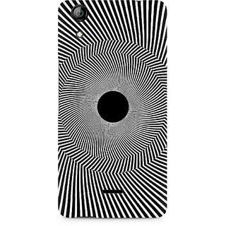 CopyCatz Black Hole Illusion Premium Printed Case For Micromax Canvas Selfie 2 Q340