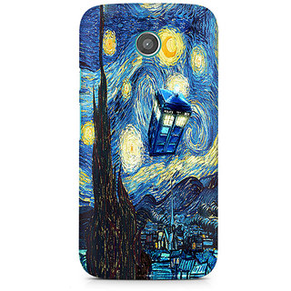 CopyCatz Doctor Who Premium Printed Case For Moto E