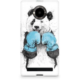 CopyCatz Panda Boxer Premium Printed Case For Micromax YU Yuphoria