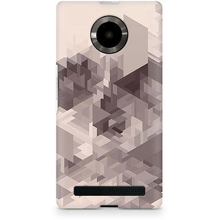 CopyCatz Randomised Triangles Premium Printed Case For Micromax YU Yuphoria