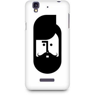 CopyCatz The Perfect Moustache Premium Printed Case For Micromax YU Yureka A05510