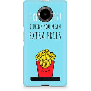 CopyCatz Extra Fries Premium Printed Case For Micromax YU Yuphoria