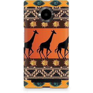 CopyCatz Tribal Giraffe Premium Printed Case For Micromax YU Yuphoria