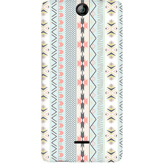 CopyCatz Tribal Chic03 Premium Printed Case For Micromax Canvas Juice 3 Q392