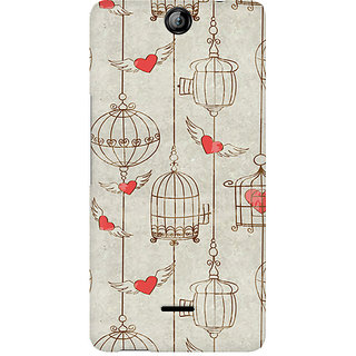 CopyCatz Cage Of Love Premium Printed Case For Micromax Canvas Juice 3 Q392