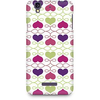 CopyCatz Heart Pattern Premium Printed Case For Micromax YU Yureka A05510