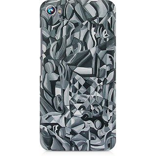CopyCatz Abstract Texture Premium Printed Case For Micromax Canvas Fire 4 A107