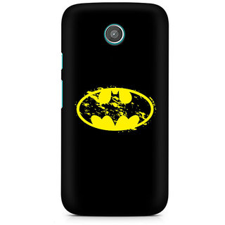 CopyCatz Flourished Yellow Batman Premium Printed Case For Moto E