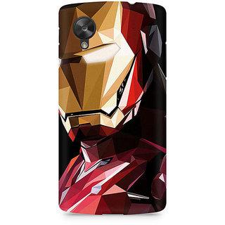 CopyCatz Iron Man Abstract Premium Printed Case For LG Nexus 5
