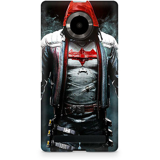 CopyCatz Redhood Equipment Premium Printed Case For Micromax YU Yuphoria