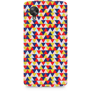 CopyCatz Geometric Fusion Premium Printed Case For LG Nexus 5