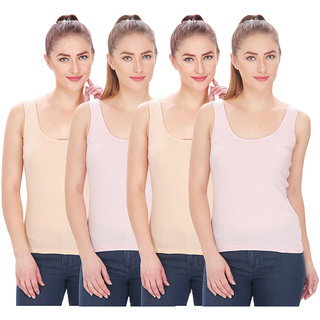 By The Way Womens Camisole Slip (Pack of 4)