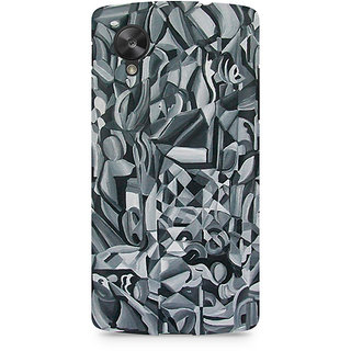 CopyCatz Abstract Texture Premium Printed Case For LG Nexus 5