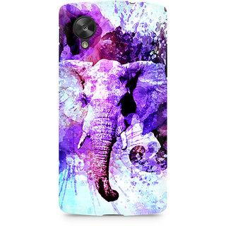 CopyCatz Watercolor Elephant Premium Printed Case For LG Nexus 5