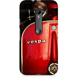 CopyCatz Vespa Premium Printed Case For Moto G3