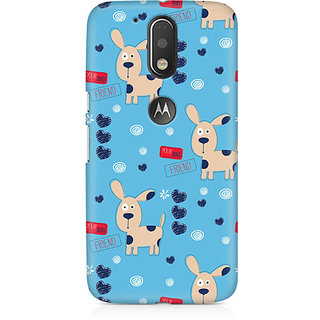 CopyCatz Your Dog Friend Premium Printed Case For Moto G4/G4 Plus