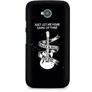 CopyCatz Rock And Roll Premium Printed Case For Moto E2
