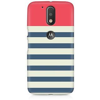 CopyCatz Stripes Pink Premium Printed Case For Moto G4/G4 Plus