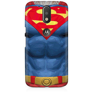 CopyCatz Superman Body Premium Printed Case For Moto G4/G4 Plus