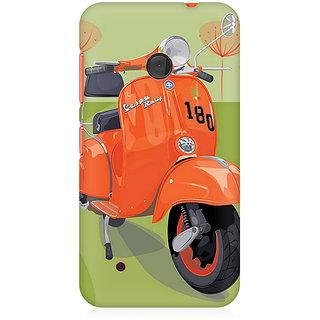 CopyCatz Orange Vespa Premium Printed Case For Nokia Lumia 530