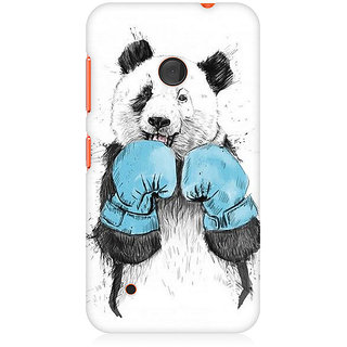 CopyCatz Panda Boxer Premium Printed Case For Nokia Lumia 530