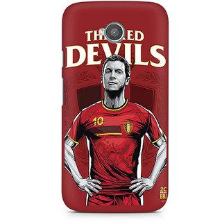 CopyCatz The Red Devils Premium Printed Case For Moto E2