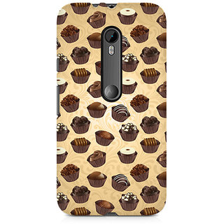 CopyCatz Chocolate Cupcake Premium Printed Case For Moto X Play