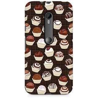 CopyCatz Dark Cupcakes Premium Printed Case For Moto G3