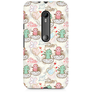 CopyCatz Cute Dragon Love Premium Printed Case For Moto X Play