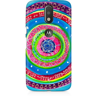 CopyCatz Concentric Circle Doodle Premium Printed Case For Moto G4/G4 Plus