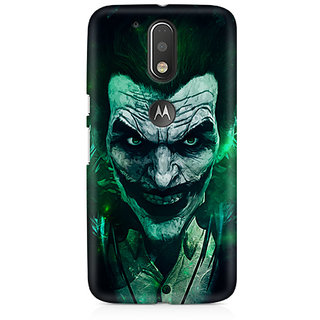 CopyCatz Joker Green Premium Printed Case For Moto G4/G4 Plus