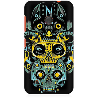 CopyCatz Three Skulls Premium Printed Case For Nokia Lumia 530