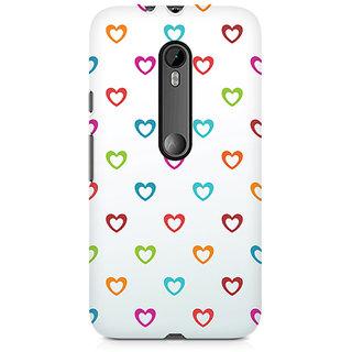 CopyCatz Colors Of Love Premium Printed Case For Moto G3