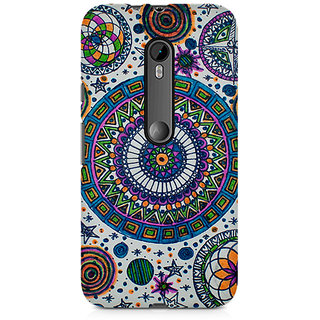 CopyCatz Abstract Colorful Premium Printed Case For Moto X Play