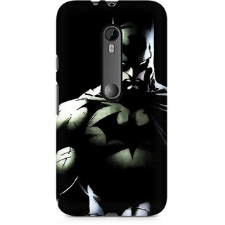 CopyCatz Batman Intense Premium Printed Case For Moto X Play